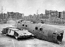 Stalingrad, the remains of a German He-1