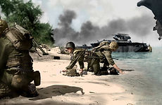 Saipan Landings - June 15, 1944