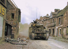 M4 Sherman tanks of the Sherbrooke Fusil