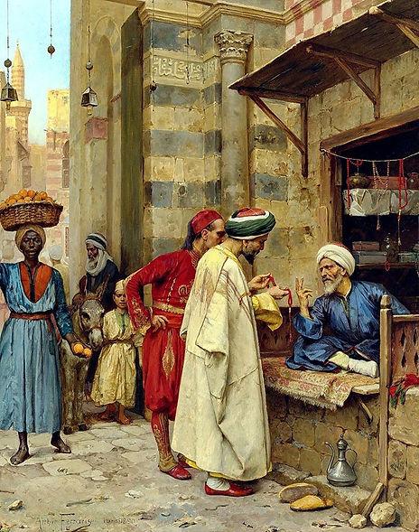 Driving A Bargain , Cairo 1890.jpg