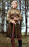 Russian sniper Roza Shanina who killed 19 soldiers.