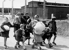 JEWISH CHILDREN IN CONCENTRATION CAMP