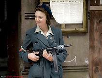 Woman fighter of the Army Krajowa (Armia