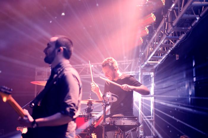 Actuación de la banda