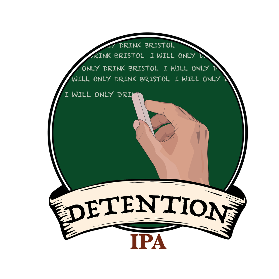 Bristol Brewery Beer Concept Logo