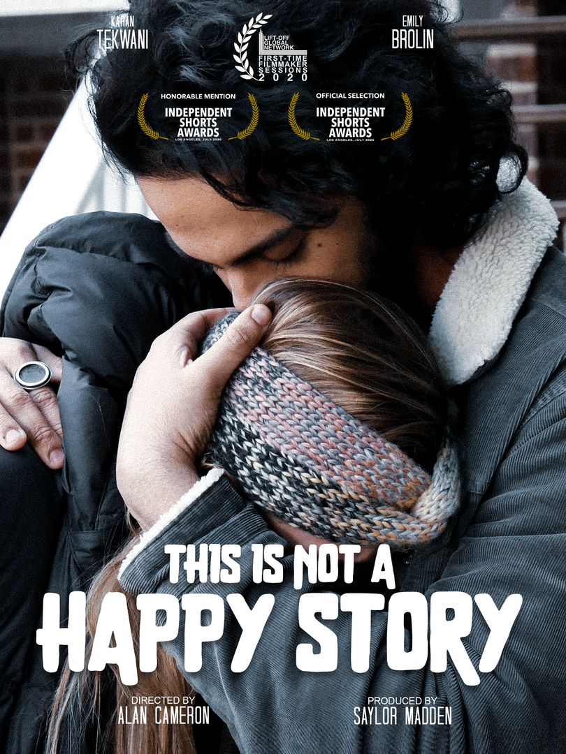 This Is Not A Happy Story Poster-Recover