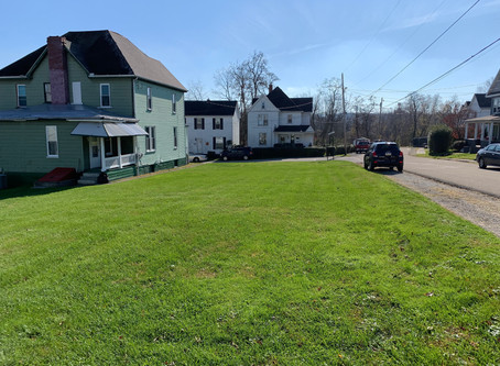 SOLD!  $20,000  26 Moyer Ave., Scottdale, PA 15683 Level, corner lot in Scottdale