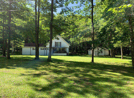 SOLD! $69,000.  951 Camp Buckey Road, Fort Hill, PA 15540
