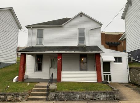 SOLD! :  $49,000 219 Washington St., Mount Pleasant, PA 15666