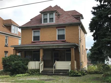 SOLD!  $82,000 - 417 S Ninth Street, Connellsville, Pennsylvania 15425