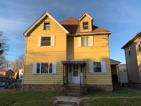 SOLD! :  $68,500  302 E. Patterson Ave., Connellsville, PA 15425