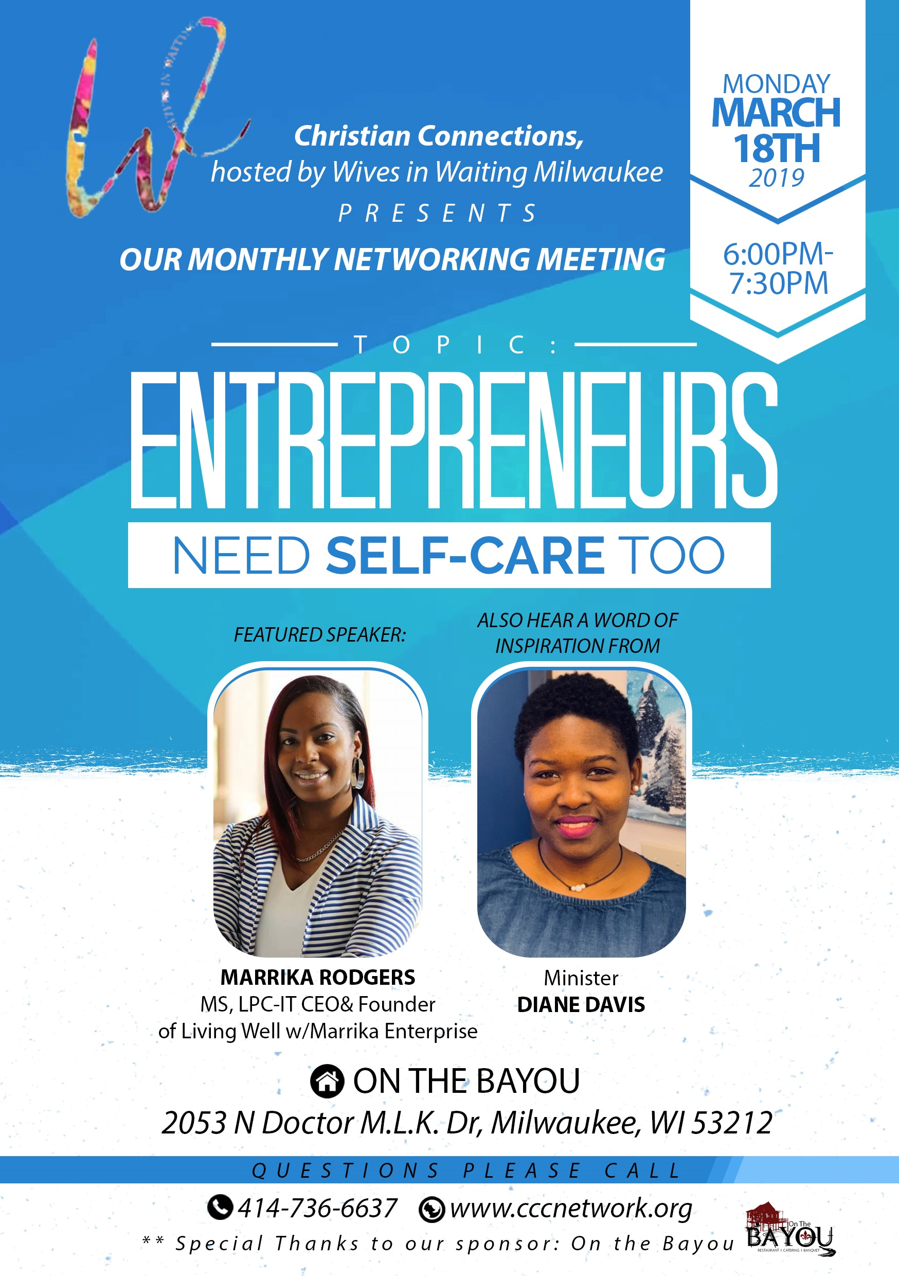 Entrepreneurs flyer