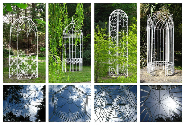 Gazebo Sculpture Series by Rose Petterson of wildrose Design and Film