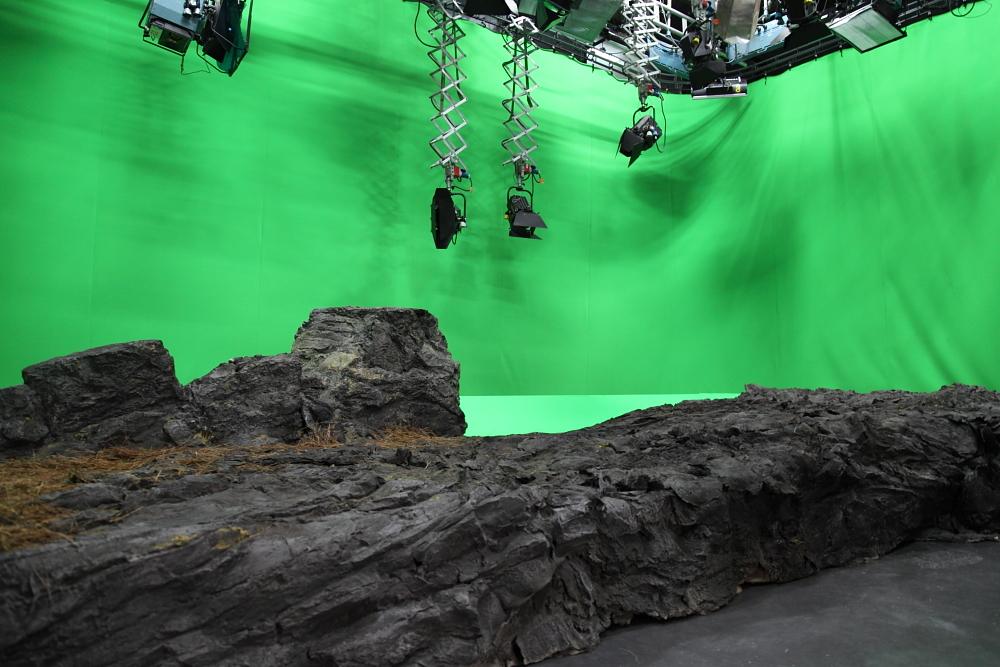 Studio Set Build