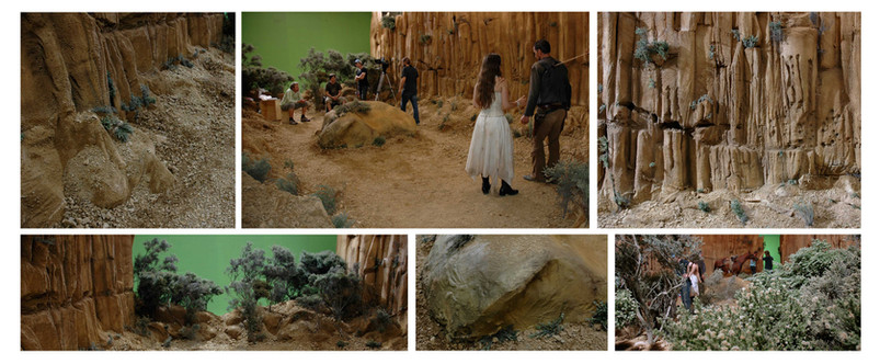Rocky Cavern Studio Set Build