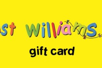 Just Williams' Gift Voucher - £50