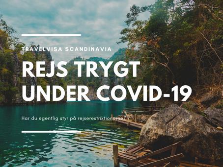 Har du egentlig styr på rejserestriktionerne? - Rejs trygt med COVID-19