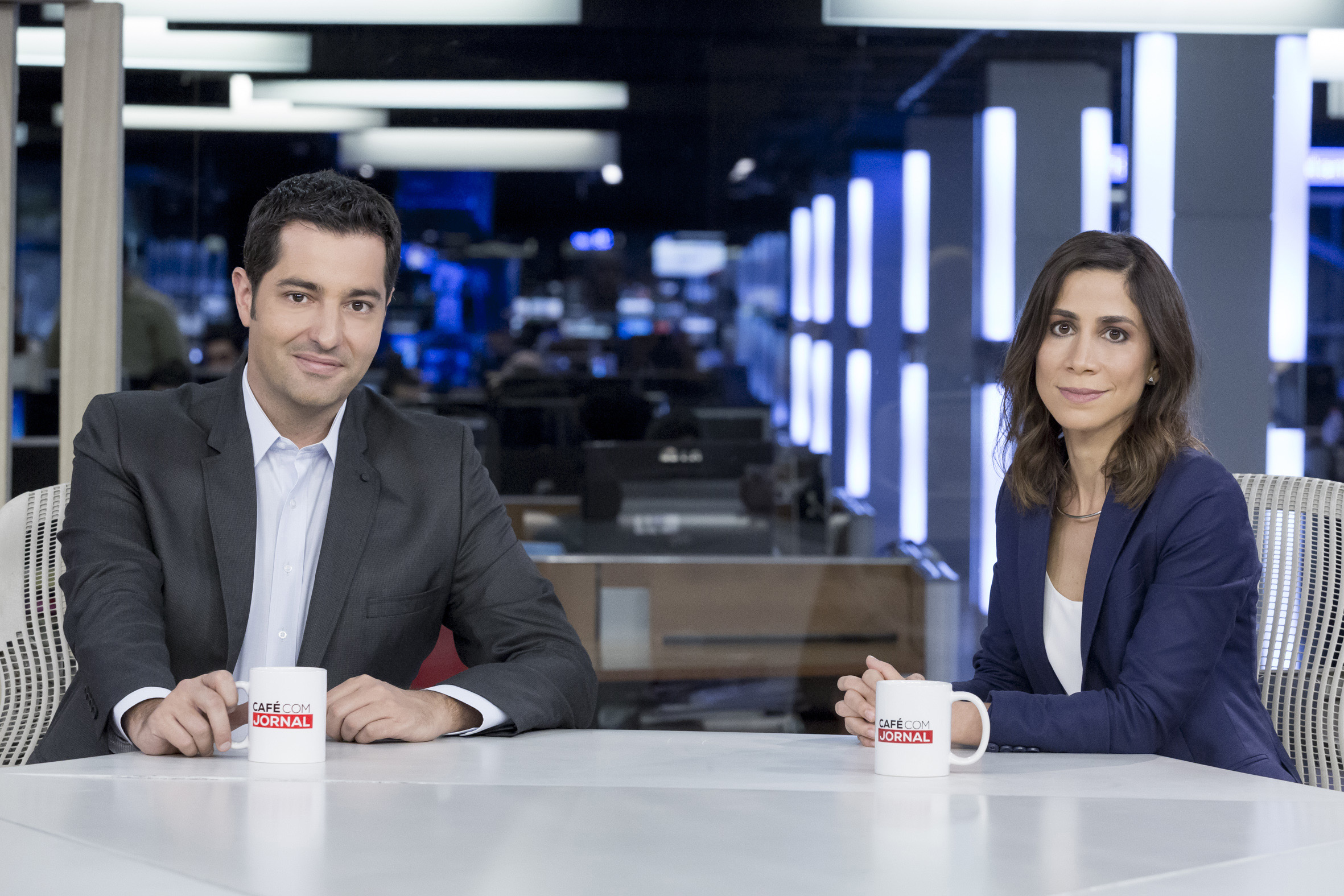 Luiz Megale e Júlia Dualibi