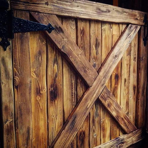 doggy gate- an elegant, rustic, beautifu