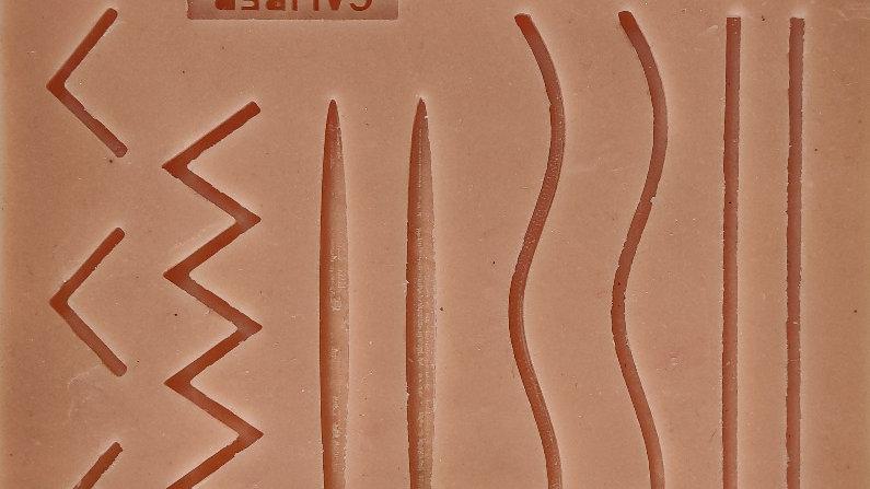 Caliber Human Wound Suture Pad (Single Layer)
