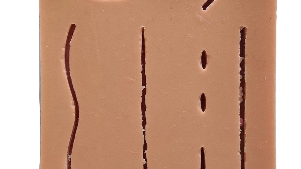 Caliber Human Wound Suture Pad (Three Layers)
