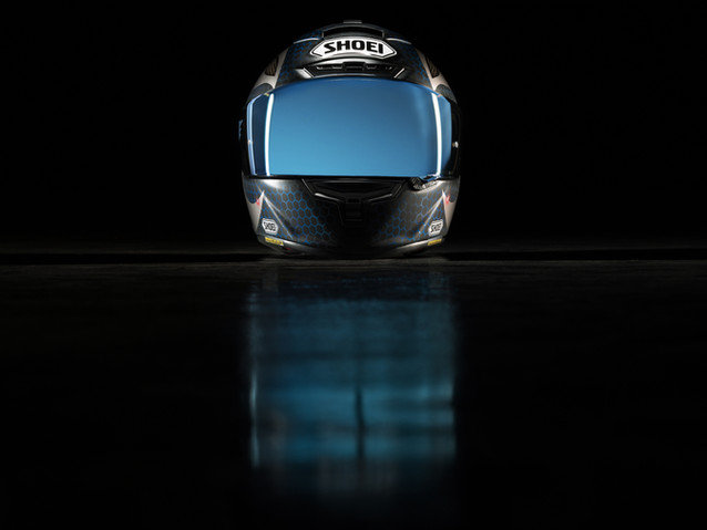 SHOEI helmet for DNA Filters