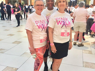 Zontas participate in the Pink Walk
