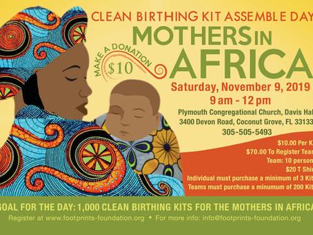 Assembling Birthing Kits for Rural Women Globally