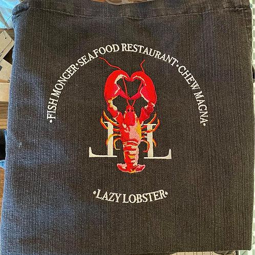 Lazy Lobster Grey Denim Apron