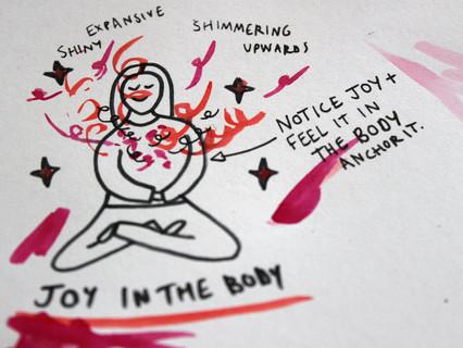 awakening joy: intention