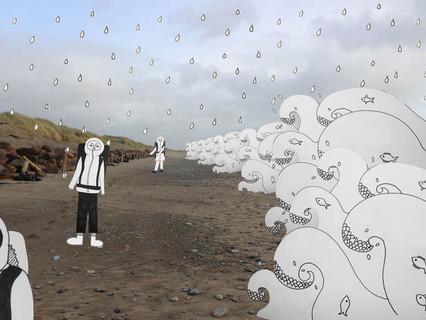 Penychain & Aberech Sands: walking, the in-between & now (Part 3)