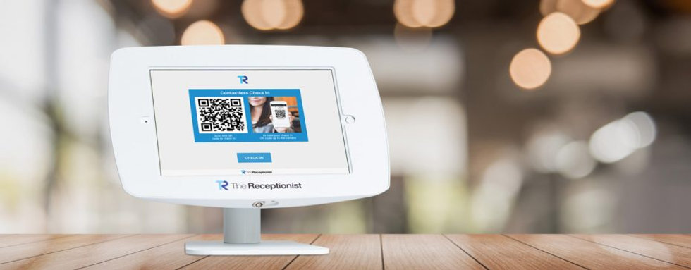 Contactless-Check-In-Home-Screen-On-Tabl