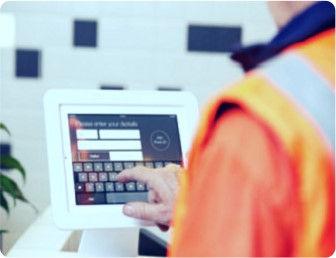 Reception Tablet Demo