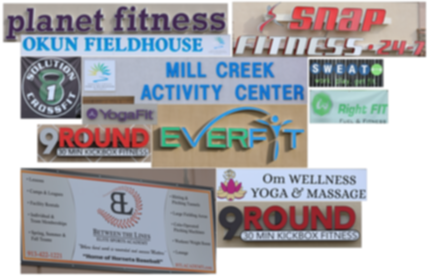Existing health and wellness facilities in Shawnee