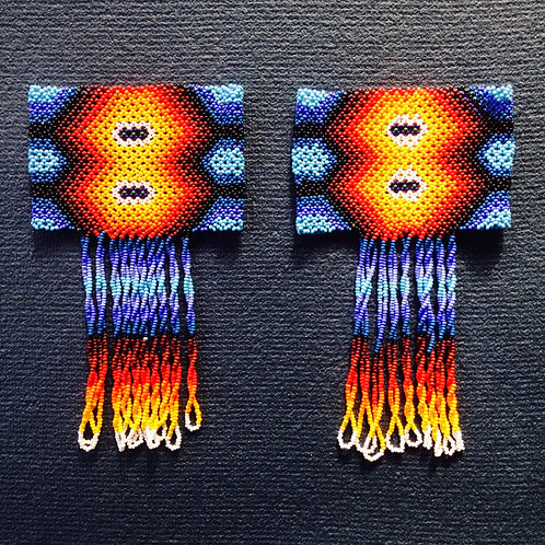Huni Kuin Bracelets Stunning Ceremonial Wear Protection Joy Sacred Geometry