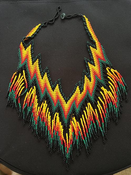 Huni Kuin Tribe Necklace Handmade