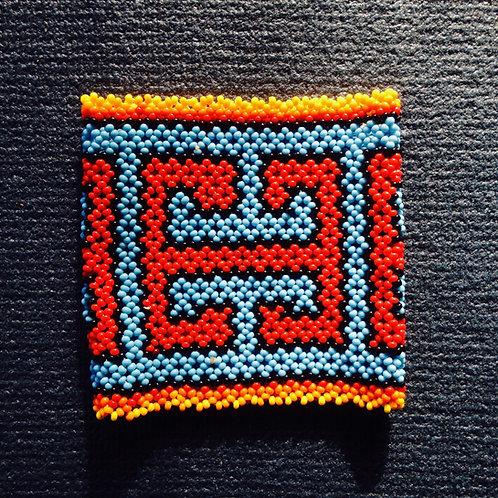 Huni Kuin Bracelets Stunning Ceremonial Wear Protection Joy Sacred Geometry Uniq