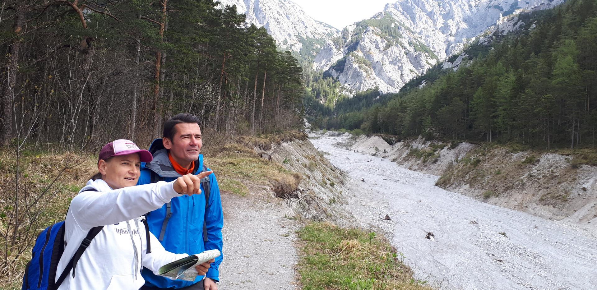 Ines Baumgartner - Bergwanderführerin - Wandern im Hochschwab