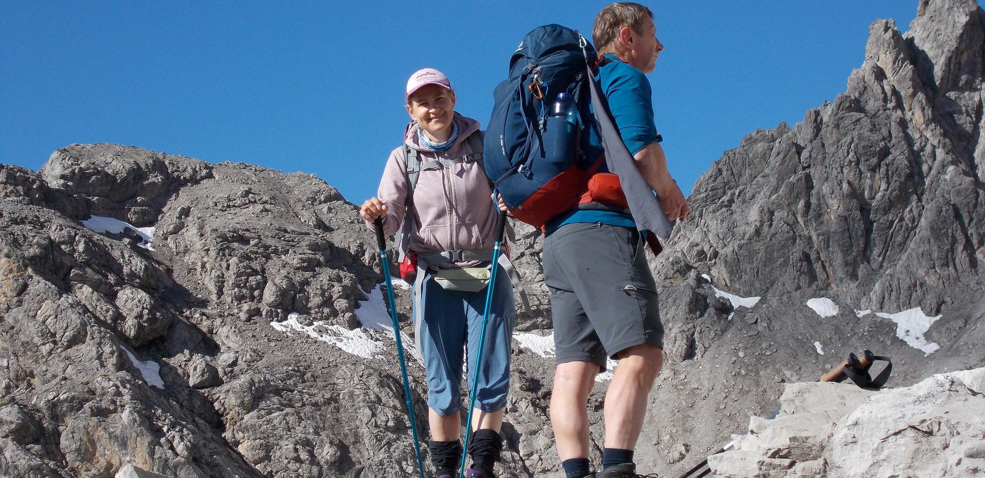 Ines Baumgartner - Bergwanderführerin