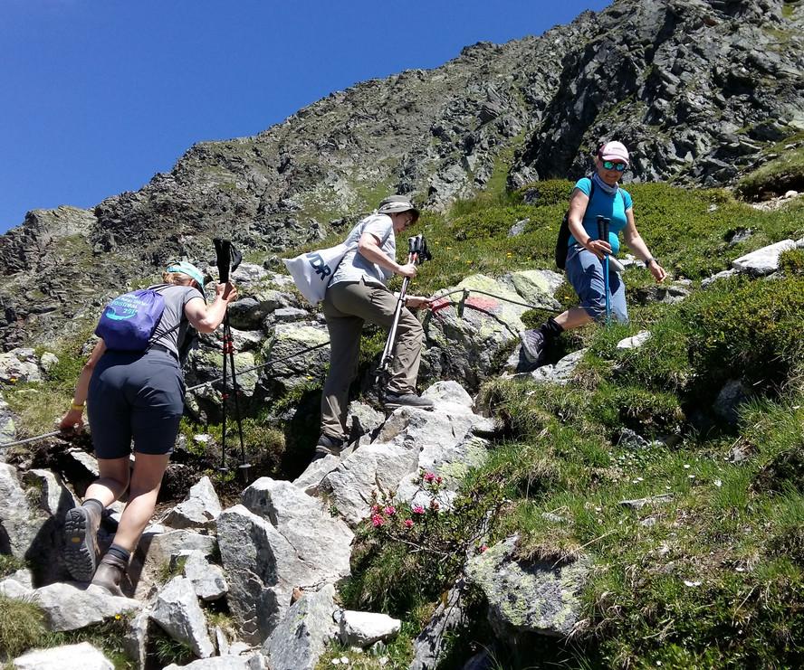 Ines Baumgartner - Bergwanderführerin - Alpenüberquerung