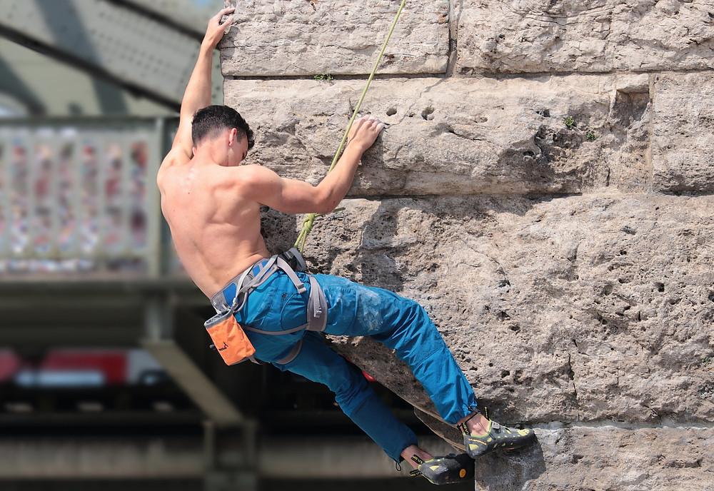 Klettern | Rückenschmerzen | Mag. Ines Baumgartner | meetthismoment.at