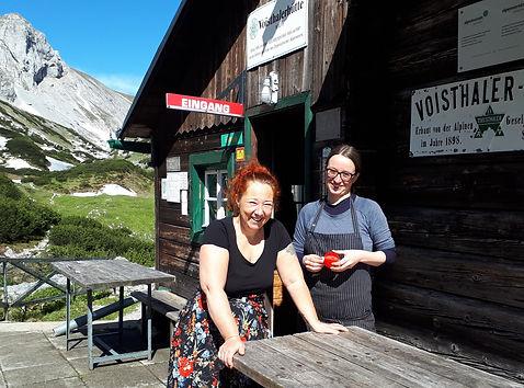 Voisthaler Hütte - Hochschwab wandern