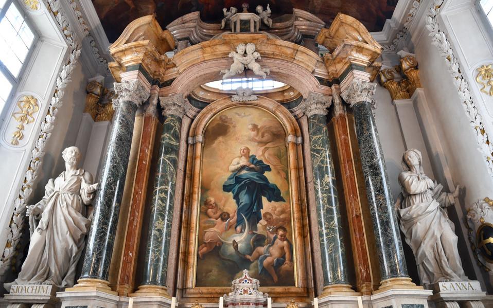 Altar der Hofkirche