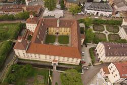 Luftaufnahme der Hofburg