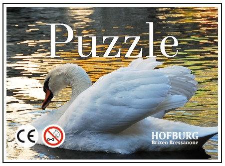 Puzzle Schwan