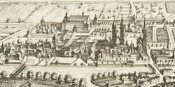 Matthäus Merian, Die Hofburg um 1649 (Ausschnitt), 1649, Kupferstich