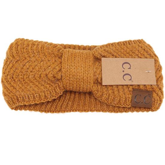 C.C. Golden Camel Headwrap