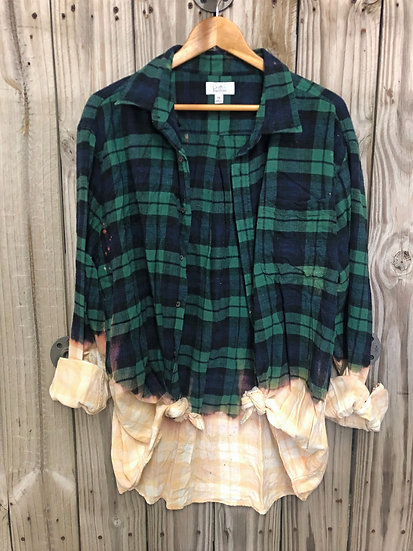 2X-Large Oversized Bleached Flannel