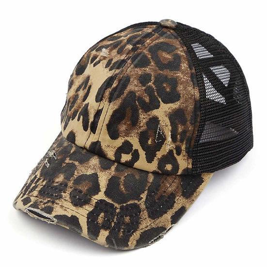 C.C. Leopard Print Hat