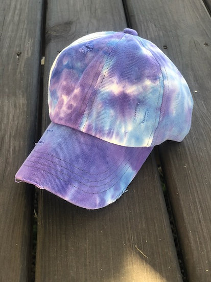 C.C. Purple Tie Dye Hat